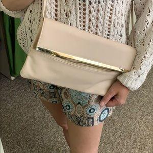 ASOS pale pink crossbody shoulder bag
